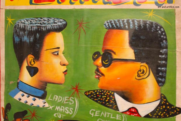 Ghana Sign Art Barber