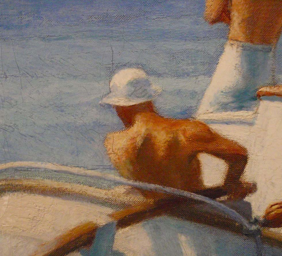 Edward Hopper Ground Swell Detail 1