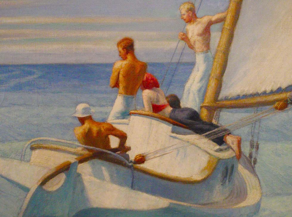 Edward Hopper Ground Swell Detail 2