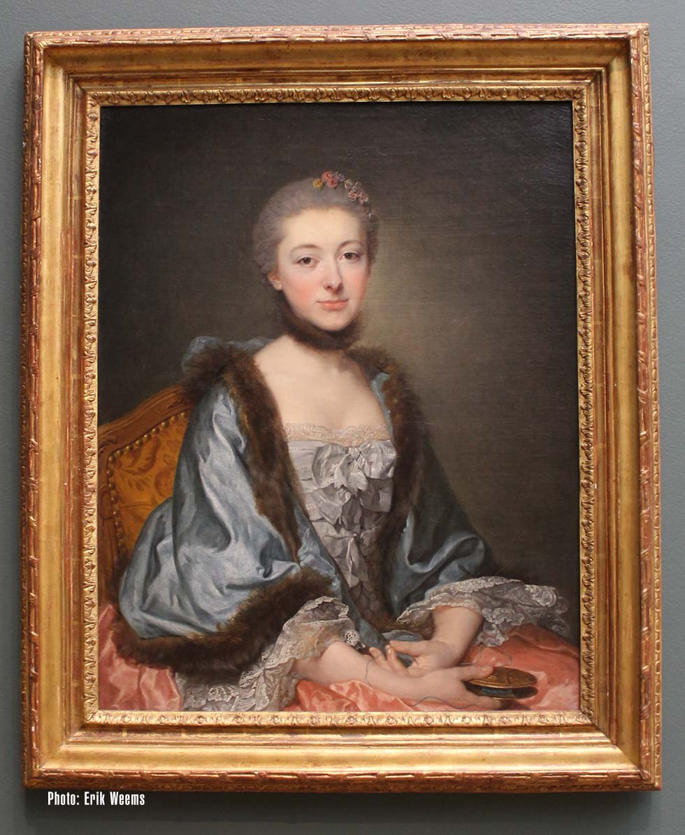 French Painting - America Collects Exhibit Wasington DC July 2017