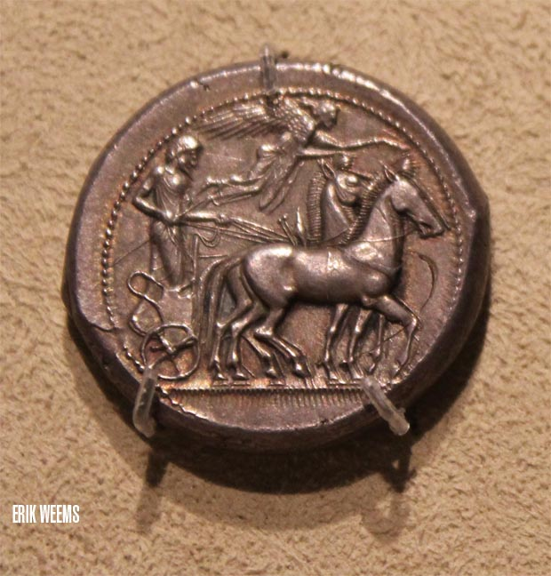 Ancient Greece Horse Coin