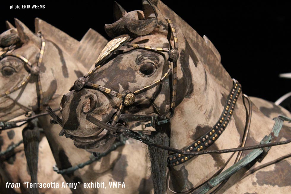 Chariot horse - Terracotta Army - Photo Erik Weems