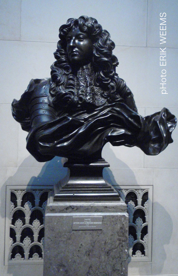 Louis XIV Bronze by Bernini