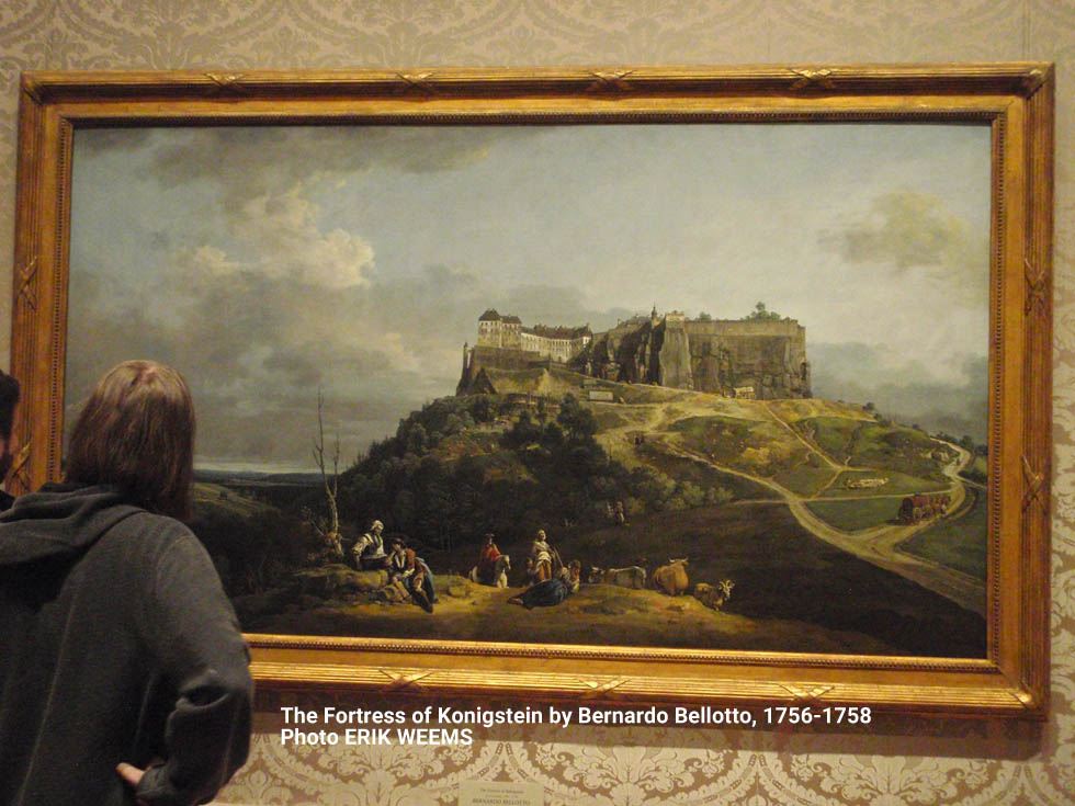 Examining the Fortress of Konigstein by Bernardo Bellotto